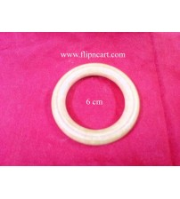 6 CM WOODEN RING