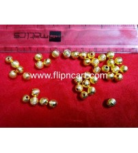 8MM GOLD BEADS