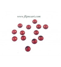 10MM ROUND SHAPE KUNDANS RED