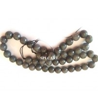 AGATE BEADS ASH 8MM ONE STRING