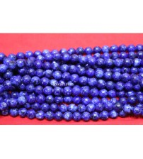 AGATE BEADS BLUE 8MM ONE STRING