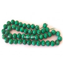 AGATE BEADS GREEN 8MM ONE STRING