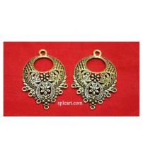 ANTIQUE CHANDBALI 4.5X2CMS ONE PAIR
