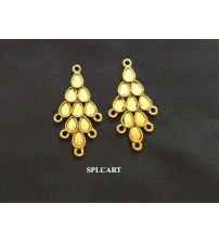 ANTIQUE DROP DESIGN EARINGS 3.7X20MM ONE PAIR