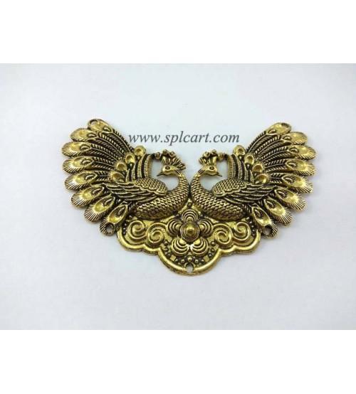Gold peacock pendant 1 antique gold peacock pendant 1 aloadofball Image collections