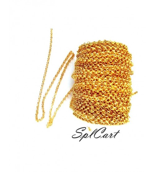 Splcart Linked Chain 4mm One Meter