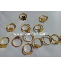 FINGER RING BASES PACK OF 10 PIECES