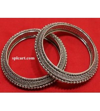 GERMAN SILVER BANGLES ONE PAIR