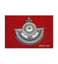 GERMAN SILVER PENDANT 6.6X6.9CMS ONE PIECE
