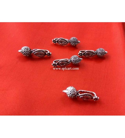GERMAN SILVER SPACER BEADS ONE PIECE