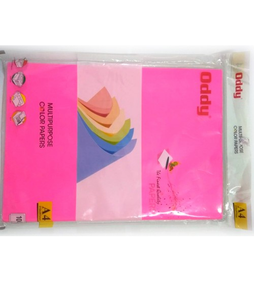 multipurpose color papers 80gsm pack of 100 sheets
