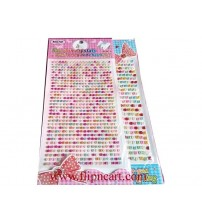 PEARL CARD MULTICOLOR 5MM