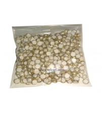PEARL ROUND STONES WHITE 5MM PACK OF 100 PIECES