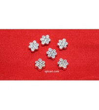RANGOLI DESIGN BEADS 10X8MM PACK OF 10 PIECES