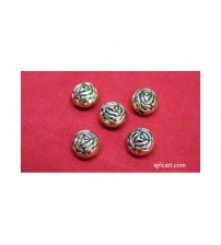 ROSE FLOWER BEADS 10MM PACK OF 10 PIECES