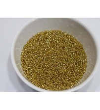 SEED BEADS GOLD PACK OF 25 GRAMS