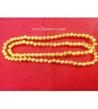 4MM GOLD BEADS STRING