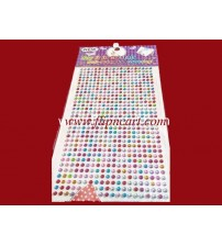 STONE CARD MULTICOLOR 5MM