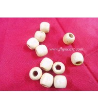 WOODEN BEADS 10MM PACK OF 175 BEADS